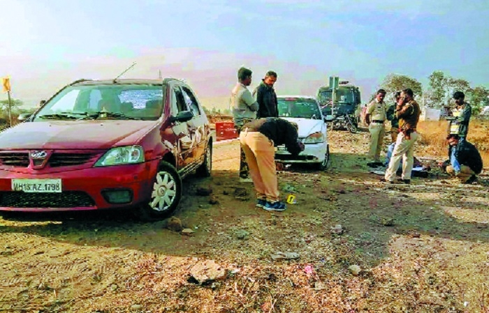 One killed as police intercept suspected robbers in Solapur