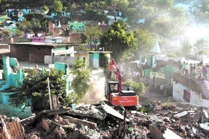 JMC continues drive on Madan Mahal hills