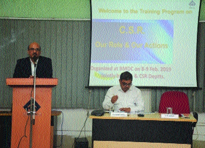 Training programme CSR: Our Role & Our Actions held