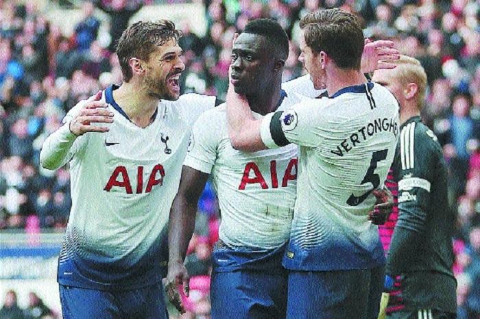 Tottenham edge past Leicester City