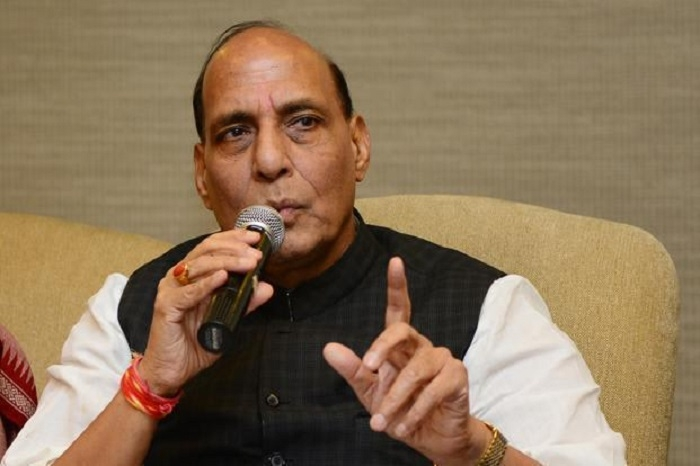 Centre will use tech to seal B'desh borders in Bengal, Assam: Rajnath