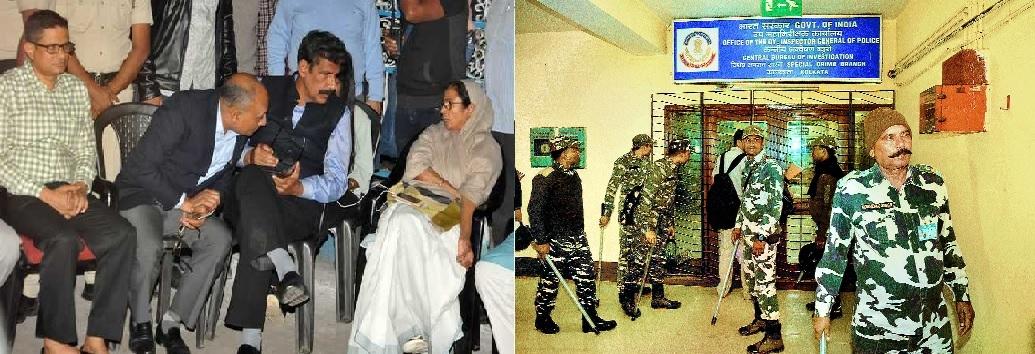 Oppn backs Mamata in Kolkata Police-CBI face-off