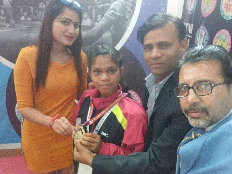 Chhattisgarh's Tikeshwari bags gold for India in International Championship