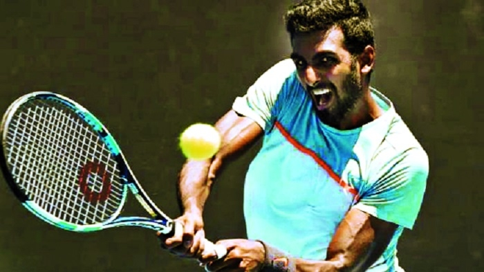 Gunneswaran, Myeni lead Indian challenge