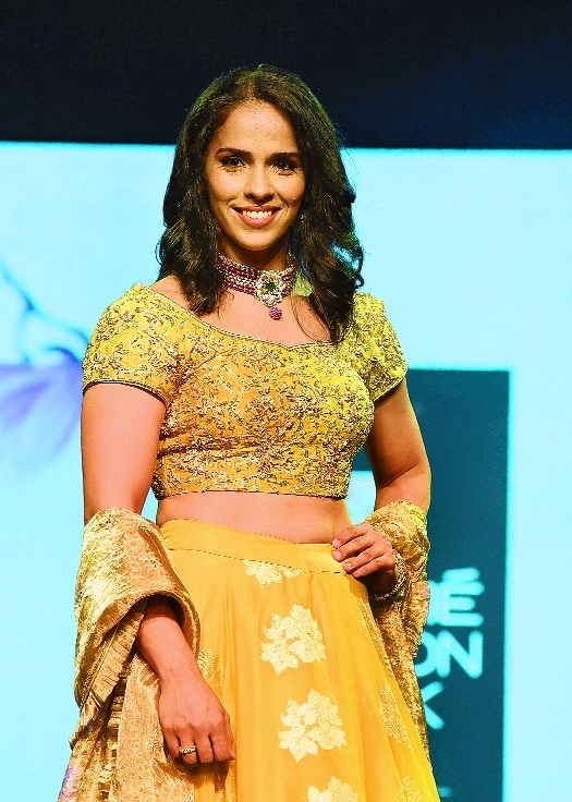 My biopic is turning out well: Saina