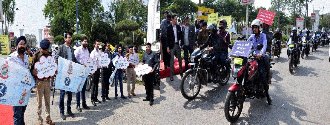 30th Road Safety Week begins