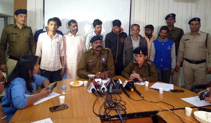 Thieves' gang busted; TMT bars worth Rs 17 lakh seized
