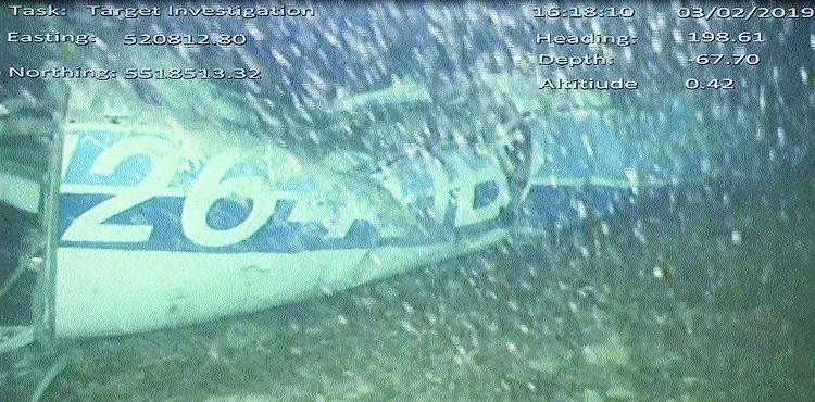 Footballer Sala's plane found