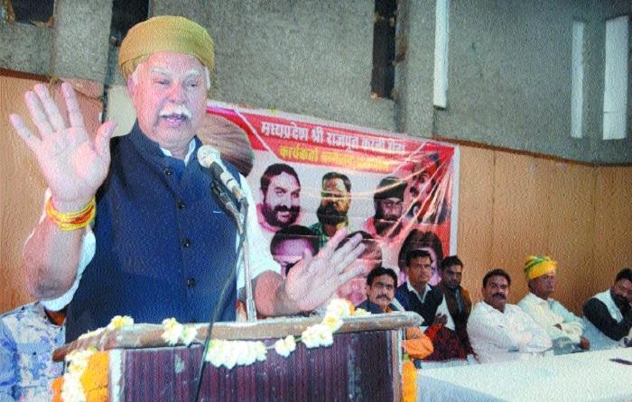 Implement 10% reservation, demands Karni Sena