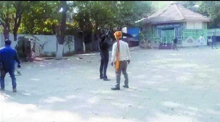 Karni Sena worker's gunshot video goes viral, booked