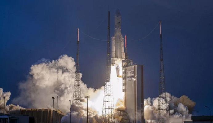 Communication satellite GSAT-31 launched