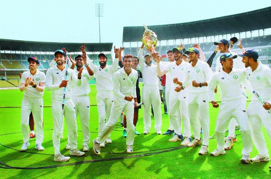 Maholl... Vidarbha, victors again