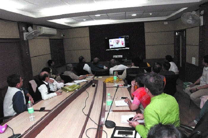 Amit Shah reviews preparations