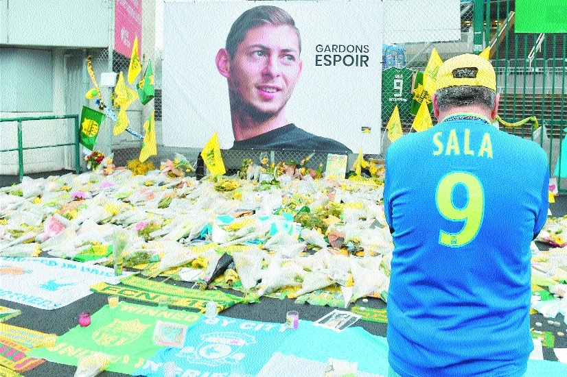 Body recovered is that of Sala, Dorset Police testify
