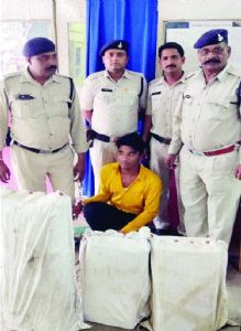 One held for transporting illegal liquor