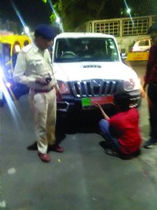 Police intensify vehicle checks ahead of polls