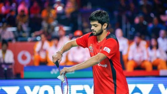 Praneeth finishes second best