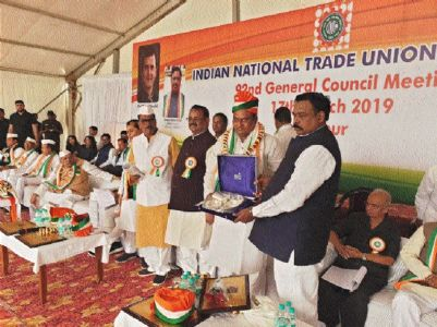 INTUC passes resolution to support Congress in polls