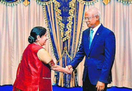Maldives reaffirms 'India-First Policy'