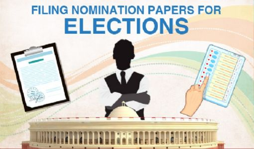 Filing of nomination papers for Lok Sabha polls begin