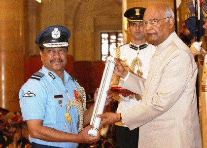 State's Armed Force Officer gets three-star rank
