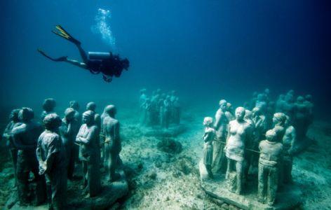 Underwater Museum For Adventurers