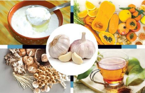 POWER FOODS TO BOOST IMMUNITY
