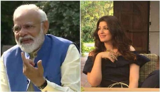 Twinkle happy that the PM reads her work