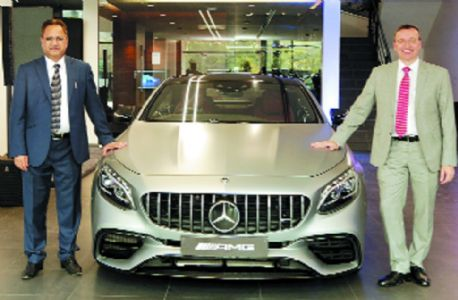 Central Star Mercedes-Benz showroom inaugurated
