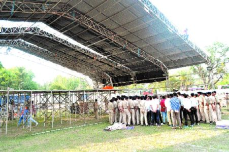 Security beefed up for of PM Modi's visit