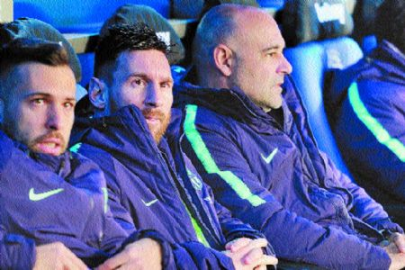Messi rested as win over Alaves edges Barca closer to the title