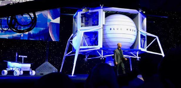 Jeff Bezos unveils new Moon-lander