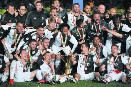 Juventus are champs