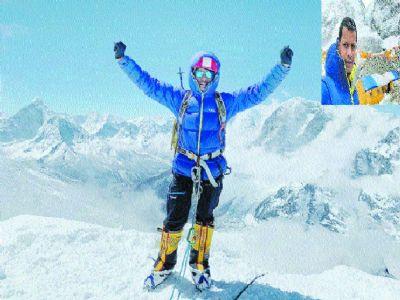 City's Pranay Bandbuche conquers Mount Everest