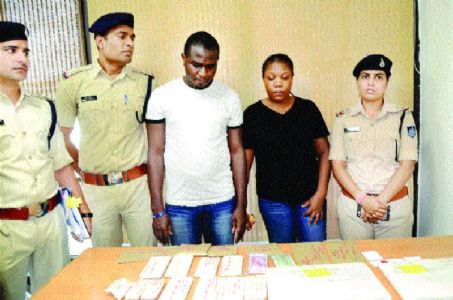 Cyber police arrest Nigerian couple from Delhi for fraud