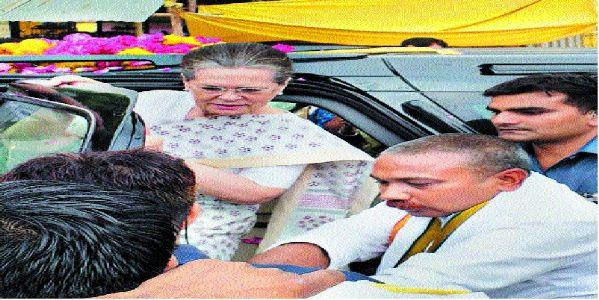 Sonia Gandhi, Priyanka visit