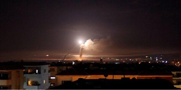 Syria downs Israeli missiles