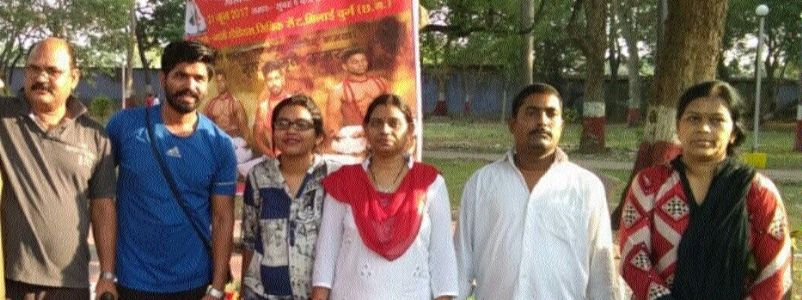 Three youths of Durg district selected in Indian Yoga team