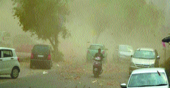 13 killed in UP dust storm, hailstorm incidents