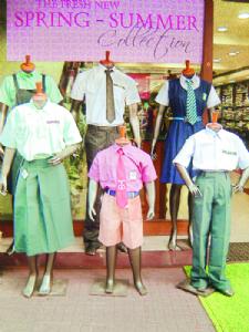 Gaysons Tots & Teens offers school uniforms