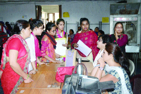 Admission continues in colleges, PG registration begins today