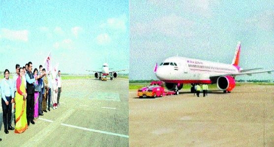 First international flight from Indore takes off for Dubai