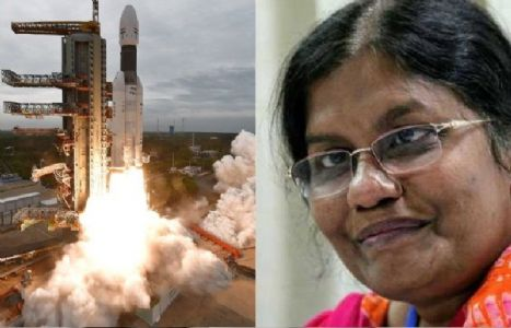 Vanitha: Woman behind India's moon landing mission