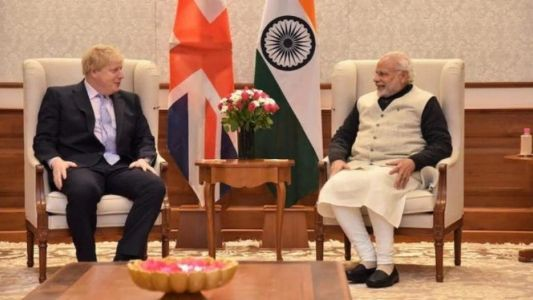 British PM talks to Modi, regrets violence outside Indian mission in London
