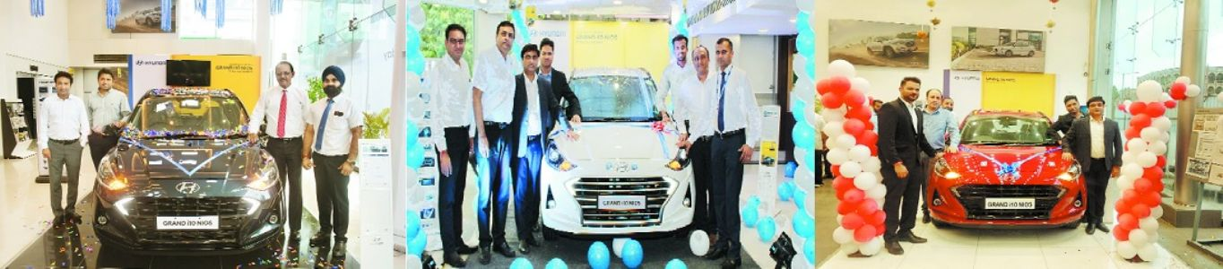 Hyundai Grand i10 NIOS launched at Ketan, Eros & Bigwig dealerships