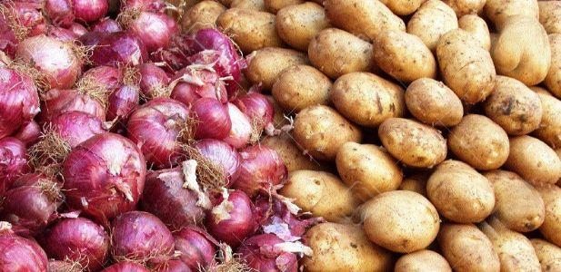 Potato, onion prices shoot up due to rains