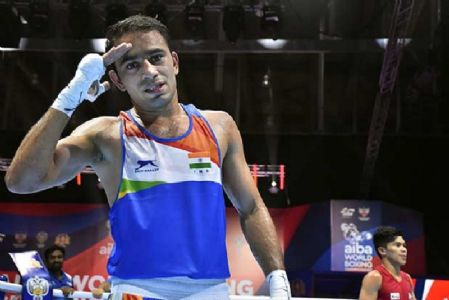 Panghal, Kaushik assure India of two medals