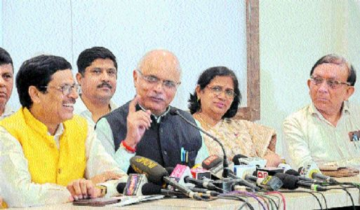 'BJP contests elections on its political performance'