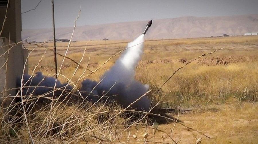8 rockets hit Iraq base h