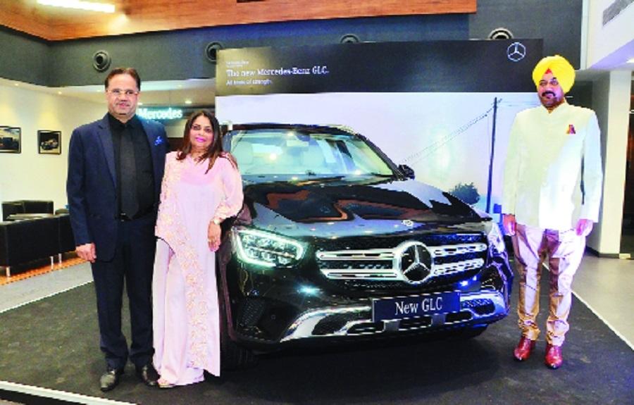 All New Mercedes GLC hits